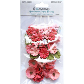 Royal Posies Paper Flowers Passion Pink