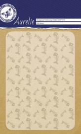 Fish Bones Background Embossing Folder