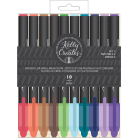 Small Brush Pens Multicolor Set 2