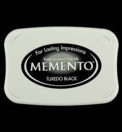 900 Memento ink pad tuxedo black