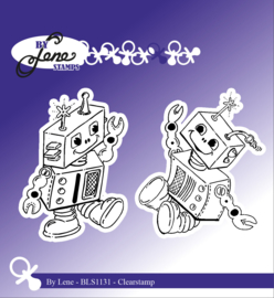 Clear Stamps Robots