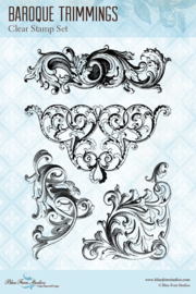 A Romantic Life Baroque Trimmings clear stamp