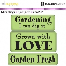 cling stamp garden fresh expressions