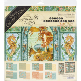 """Voyage Beneath The Sea Deluxe Collector's Edition Pack 12""""X12"""""""