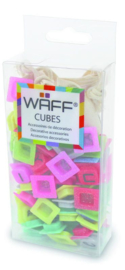 WAFF Creative Journal Cubes Glitter Letters