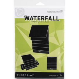 "Maker Series 4""x6"" Mechanical Black Waterfall"