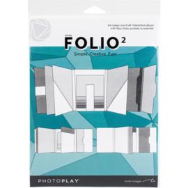 """Folio 6""""X8"""" White"""