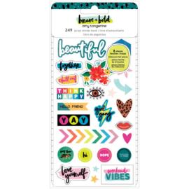 Brave & Bold Mini Sticker Book