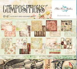 "Compositions Paper Pack 8""x8"""