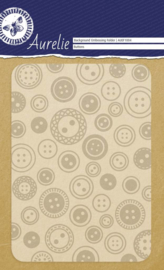 Buttons Background Embossing Folder