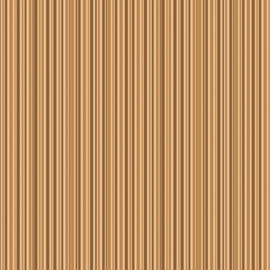 Patterned single-sided brown stripe