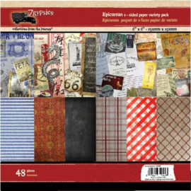 Epicurean double sided paper pad