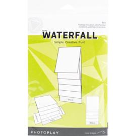 "Maker Series 4""X4"" Mechanical White Waterfall"