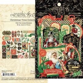 Christmas Time Cardstock Die-Cut Assortment