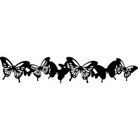 Edge frise papillons