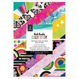 """Color Study Paper Pad 6""""X8"""""""