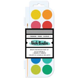 Color Study Watercolor Set Brights
