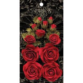 Rose Bouquet Collection Triumphant Red