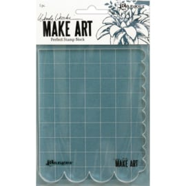 Make Art Perfect Stamp Block