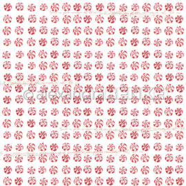 Sweet Christmas Red & White Candy Rapport