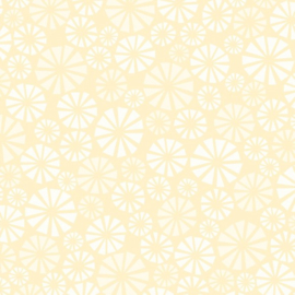 Patterned single-sided cream