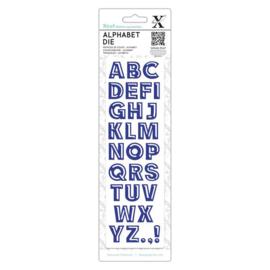 Alphabet Dies Bevelled