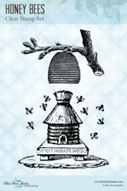 Honey Bees clear stamps