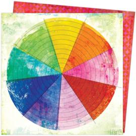 Color Study Color Wheel