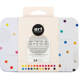 Watercolor Confetti Set