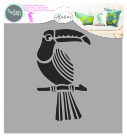 Textile Stencil Toucan