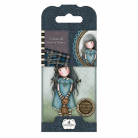 Gorjuss Collectable Rubber Stamp No. 4 Forget Me Not