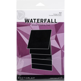 "Maker Series 4""X4"" Manual Black Waterfall"