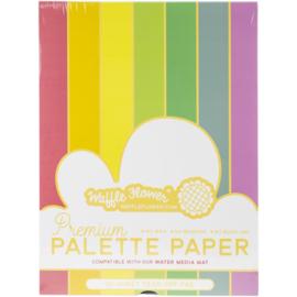 """White Premium Palette Paper Pad 9""""X12"""""""