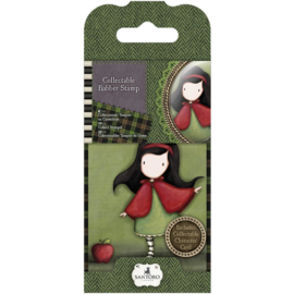 Gorjuss Collectable Rubber Stamp No. 14 Little Red