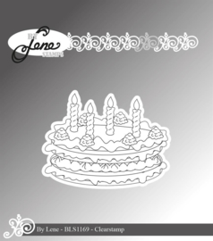 Clear Stamps Birthday Cake