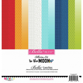 "To The Moon Besties Collection Kit 12""X12"""