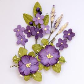 Wildflowers Violet