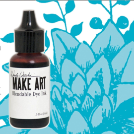 Make Art Dye Ink Pad Reinkers Forget-Me-Not