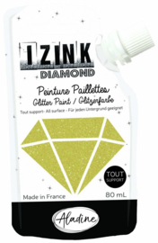 Izink Diamond Glitter Paint Gold