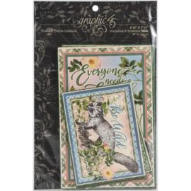 Woodland Friends Ephemera & Journaling Cards