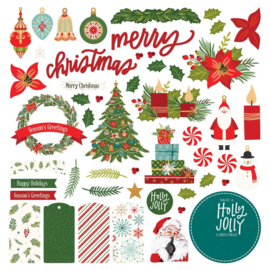The North Pole Trading Co. Collection Card Kit Stickers