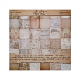 Paperblock stash French industrial
