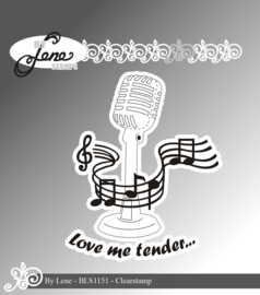 Clear Stamps Microphone