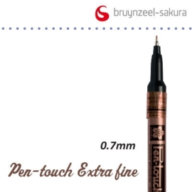 Sakura marker extra fijn 0.7mm koper