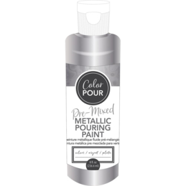 Pre-Mixed Metallic Paint Silver