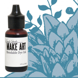 Make Art Dye Ink Pad Reinkers Cornflower Blue
