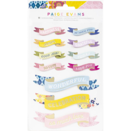 Wonders Dimensional Stickers Banners