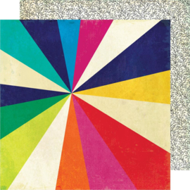 "Color Kaleidoscope Dbl-Sided Cardstock 12""X12"" Kaleidoscope"