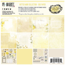 "Vintage Artistry Butter Collection Pack 6""X6"""