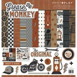 """Grease Monkey Collection Pack 12""""X12"""""""